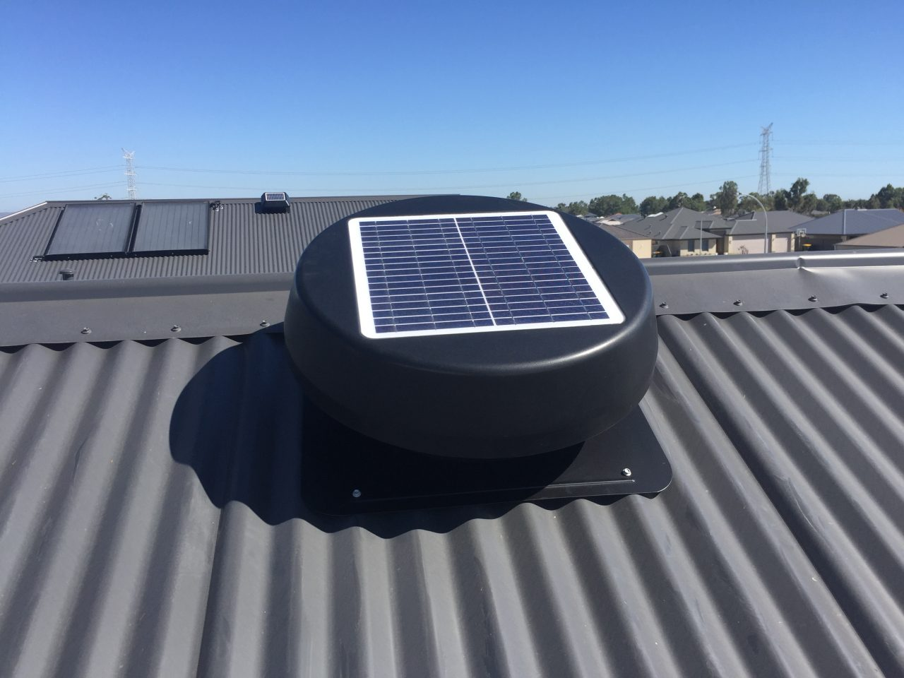 Solar Fan Eco Solar Fan By Eco Solar Vents Solar Roof Vents